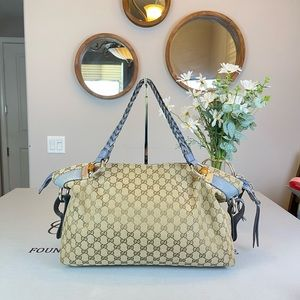 Gucci GG logo Supreme Large Totes Handbag